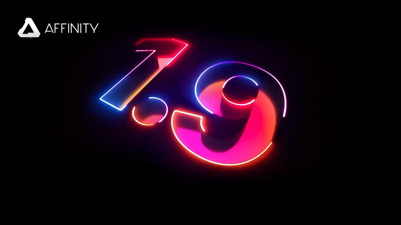 Affinity 1.9 へようこそ - Serif