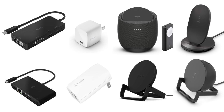 AmazonのタイムセールでBelkinのUSB-Cアダプタや急速充電器、Qi対応のワイヤレス充電器が特別価格で販売中。