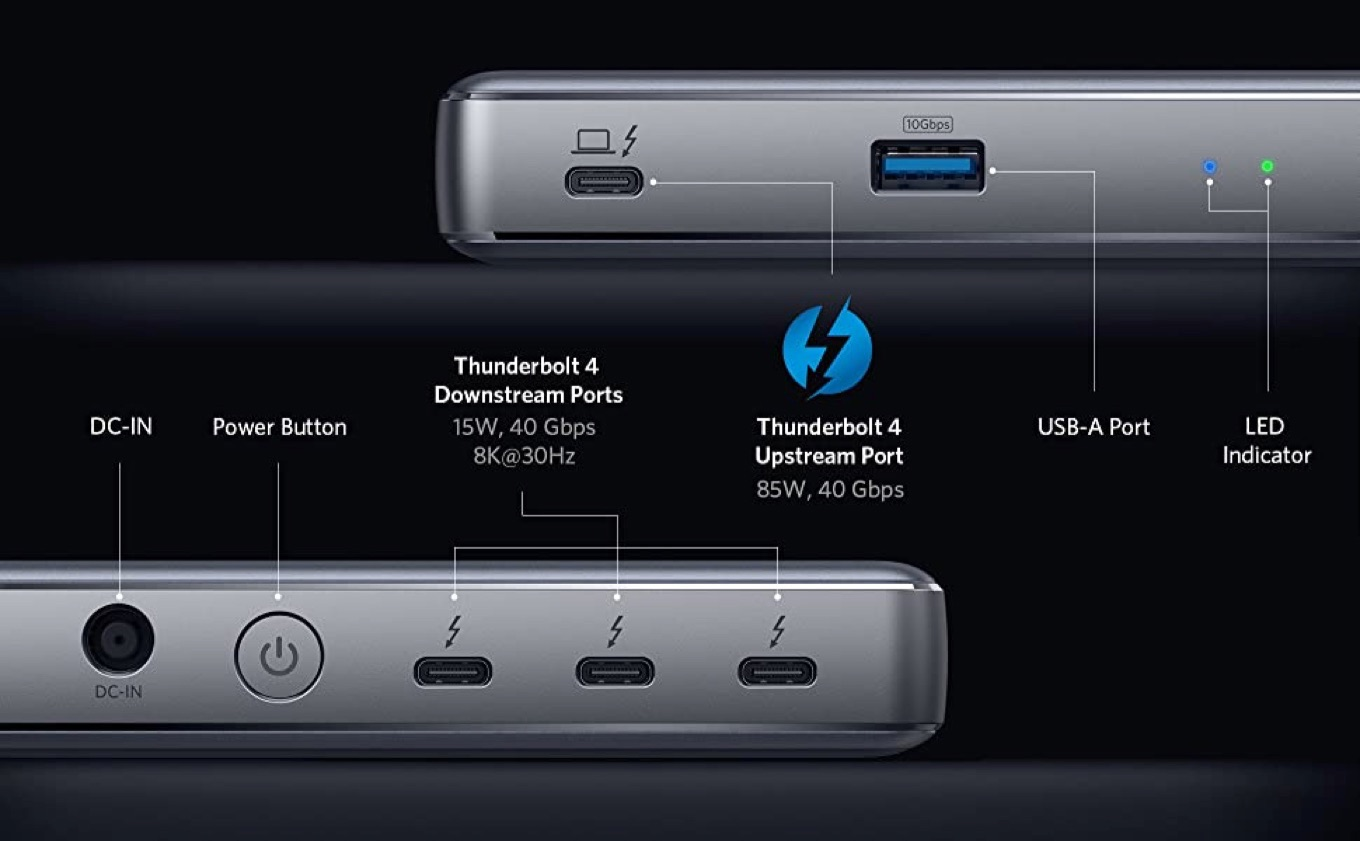 Anker PowerExpand 5-in-1 Thunderbolt 4 Mini Dock