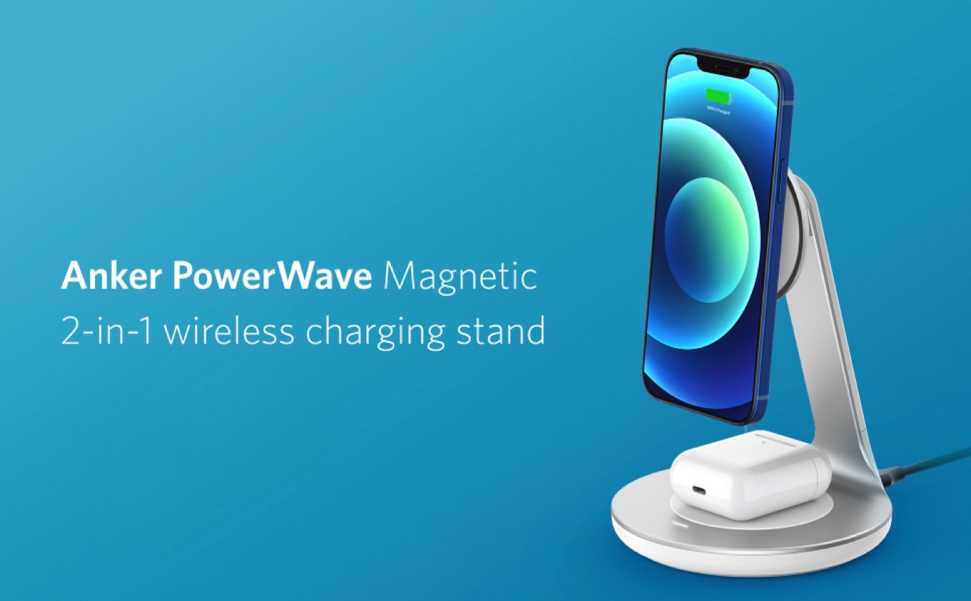 Anker PowerWave Magnetic 2-in-1 Stand