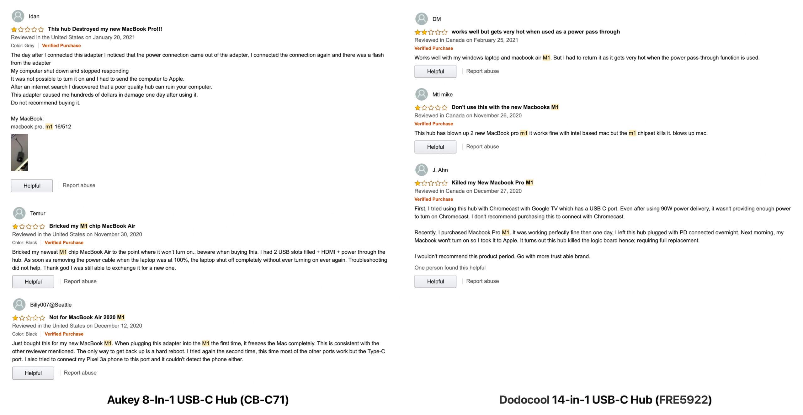 Amazon.comのカスタマーレビュー