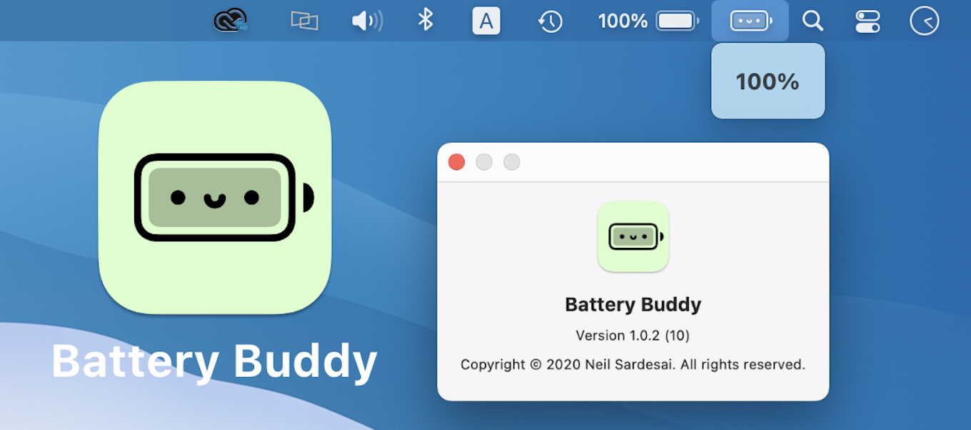 Battery Buddy for Macbook