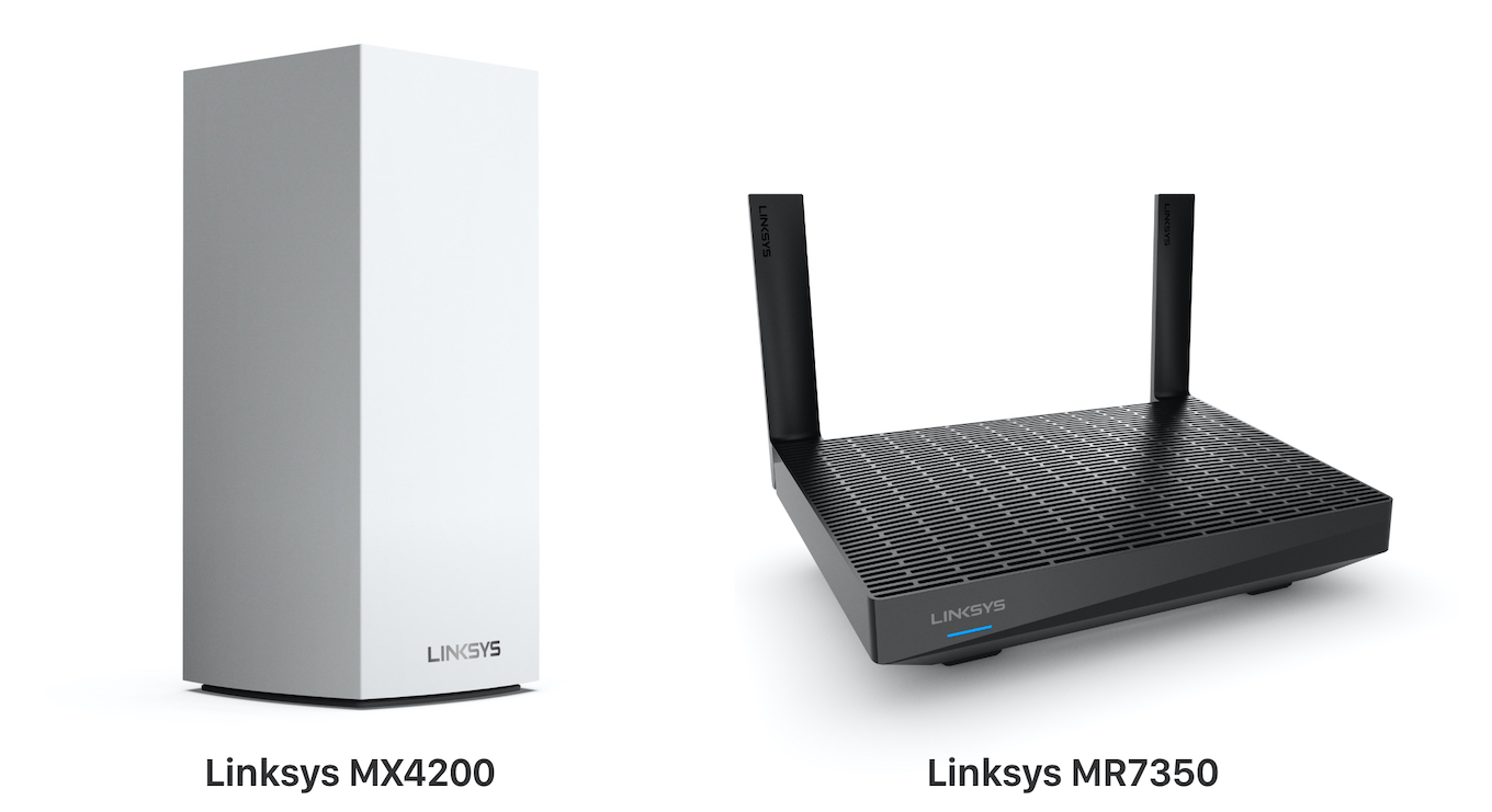 Linksys MX4200 and MR7350