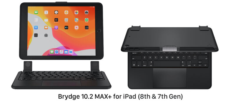 Brydge 10.2 MAX Plus for iPad 7 and 8 Gen