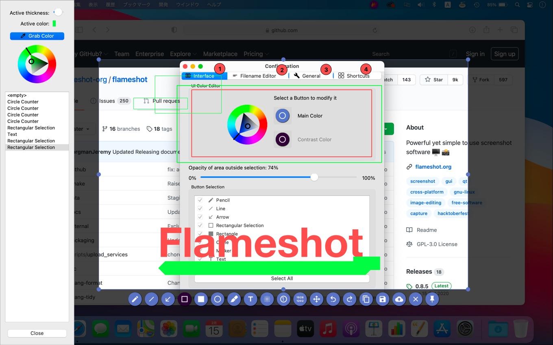 Flameshot v0.9.0 RC1 Beta for Mac
