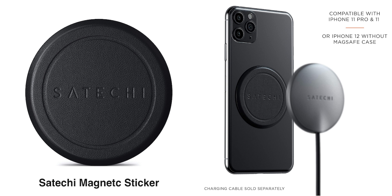 Satechi Magnetic Sticker for iPhone 11