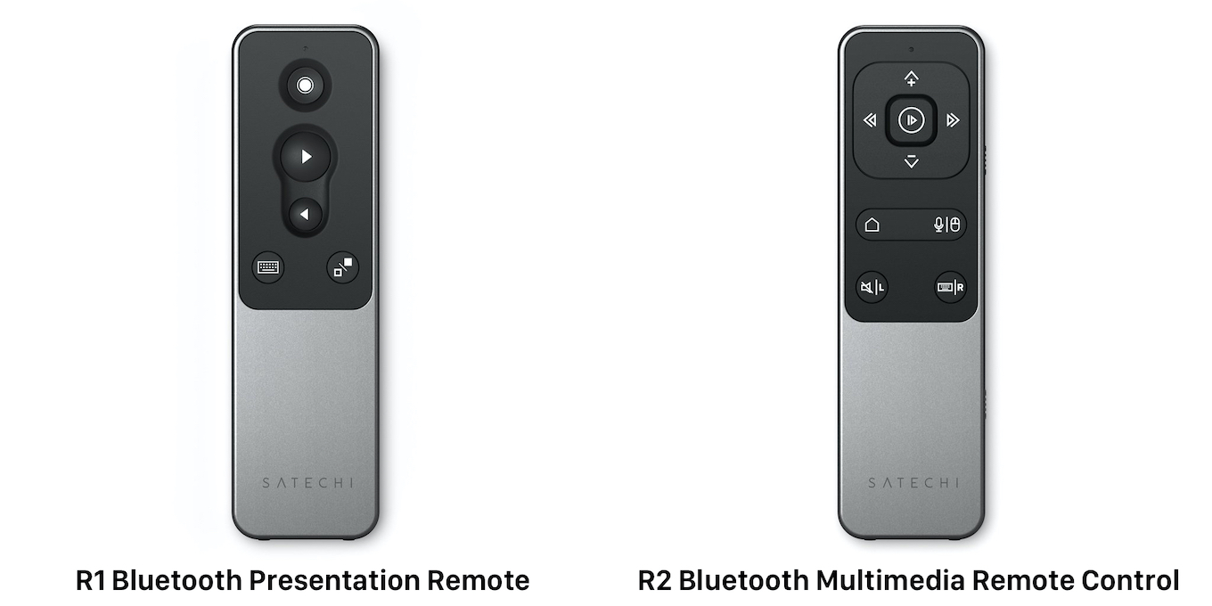 Satechi R1 and R2 Bluetooth Remote