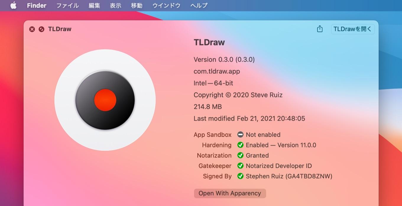 TLDraw for Mac