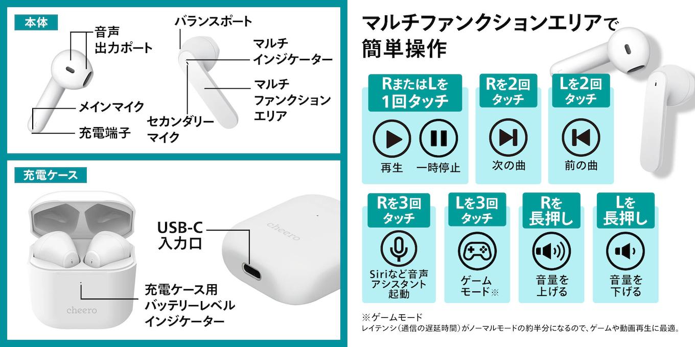 Wireless Earphones Light Style 2