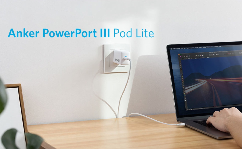 Anker PowerPort III 65W Pod Lite