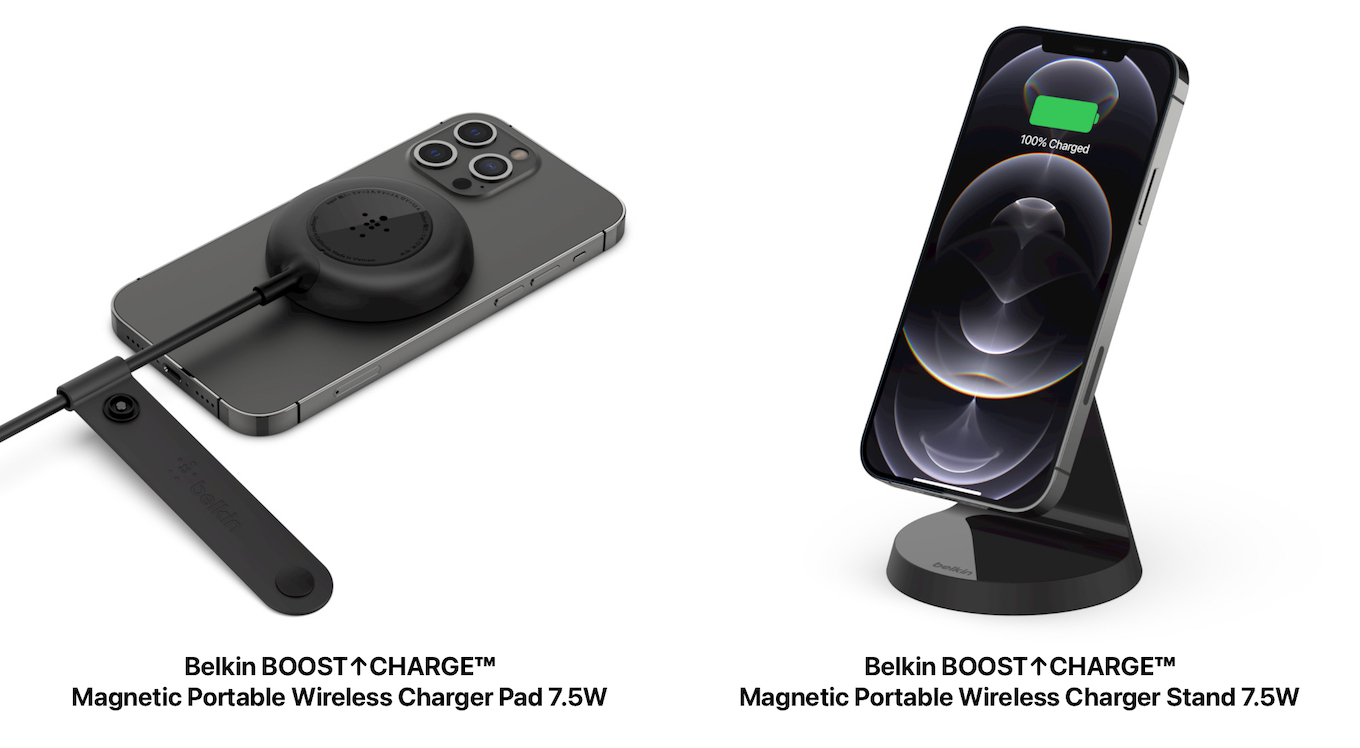 Belkin BOOSTup CHARGE Magnetic Portable Wireless Charger Pad 7.5W