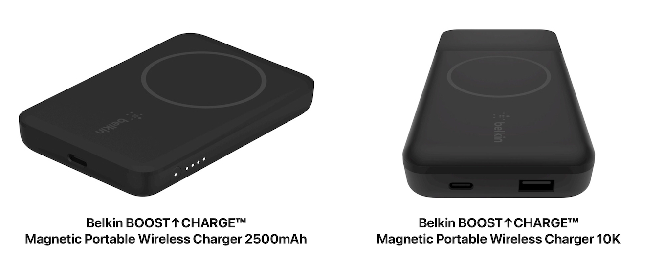 BOOST↑CHARGE™ Magnetic Portable Wireless Charger