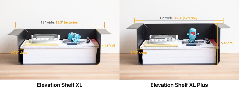 約11.3 x 24.8 x 30.5 cmのXLモデル