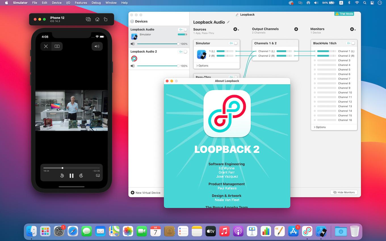 Loopback Xcode Simulator audio capture