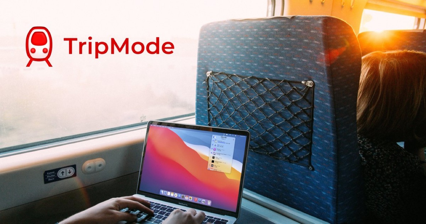 TripMode is now on the Mac App Store. Get it today.