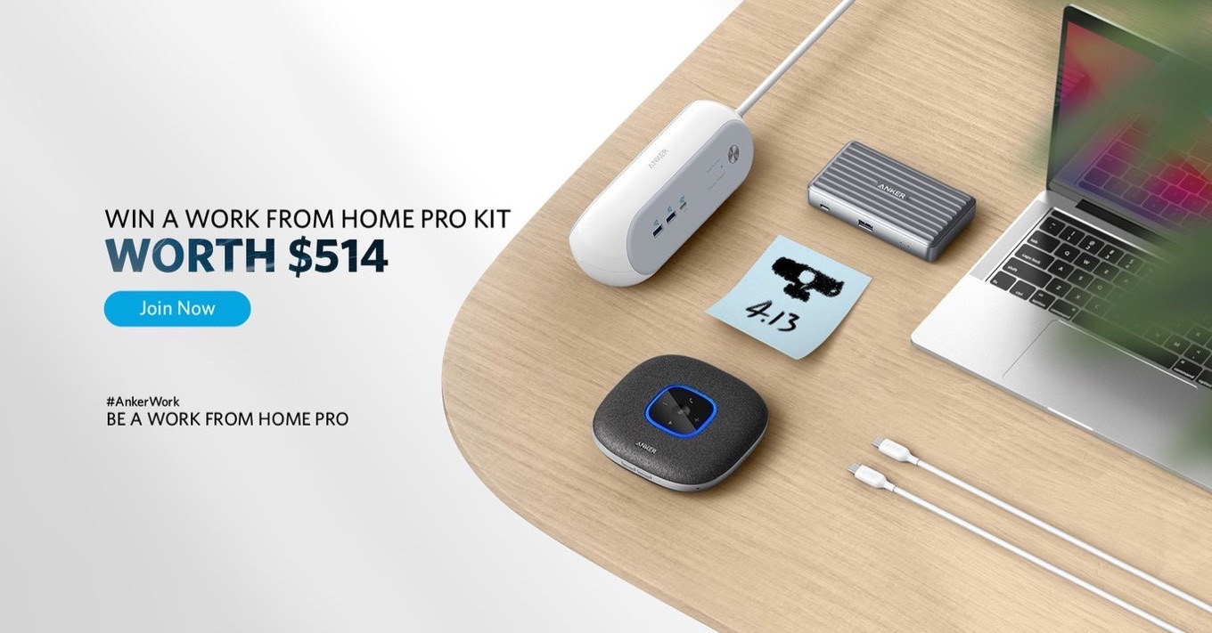 Work From Home Pro Kit April 2021