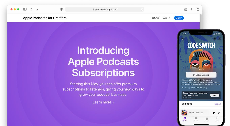 Apple Podcasters Program