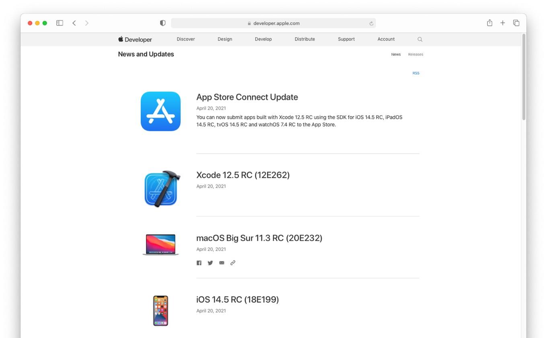 macOS Big Sur 11.3 RC (20E232)