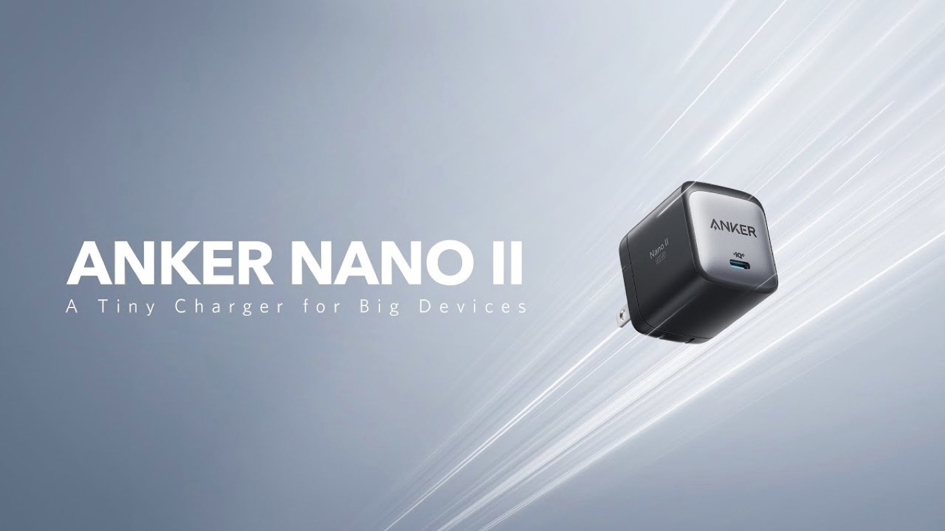 Anker Nano II A Tiny Charger for Big Devices