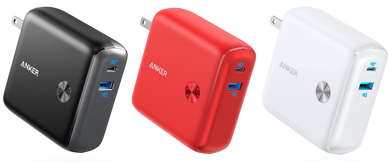 Anker PowerCore Fusion 10000 red
