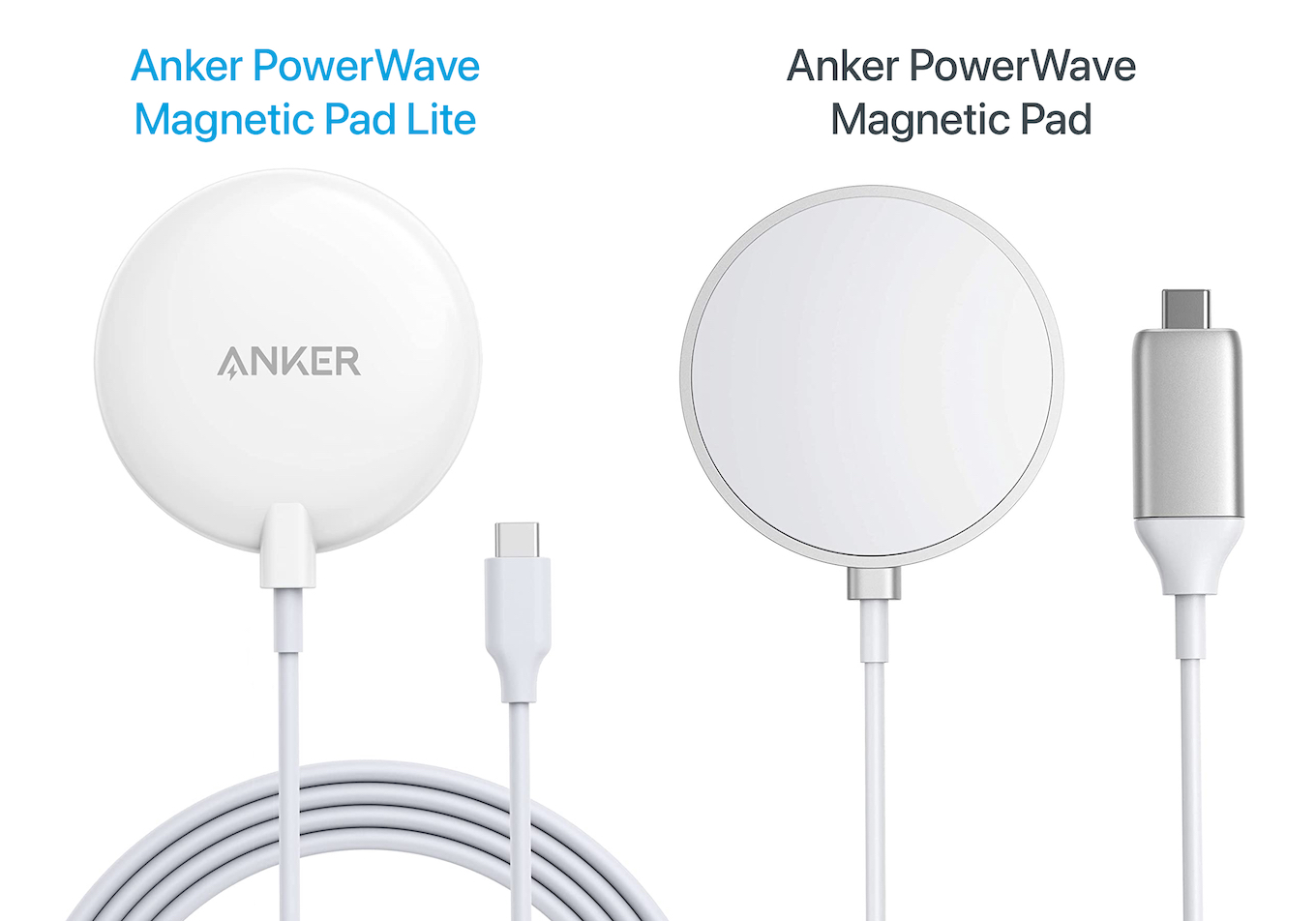 Anker PowerWave Magnetic Pad and Lite