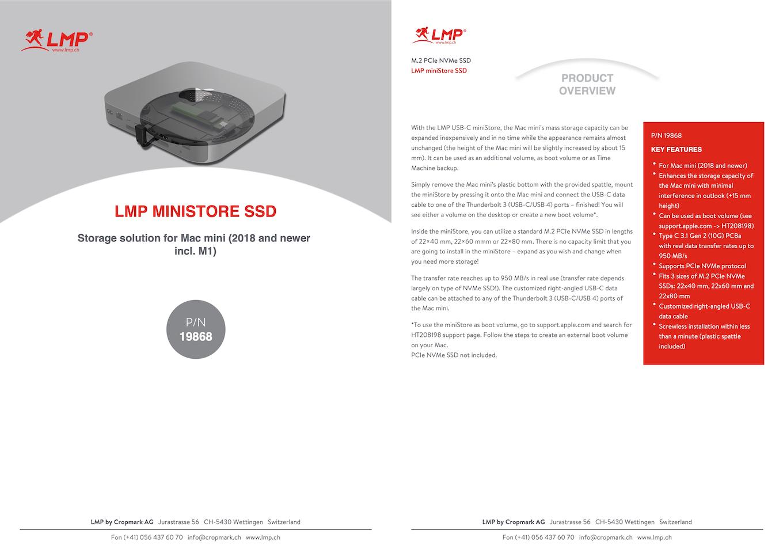 LMP miniStore SSDのマニュアル