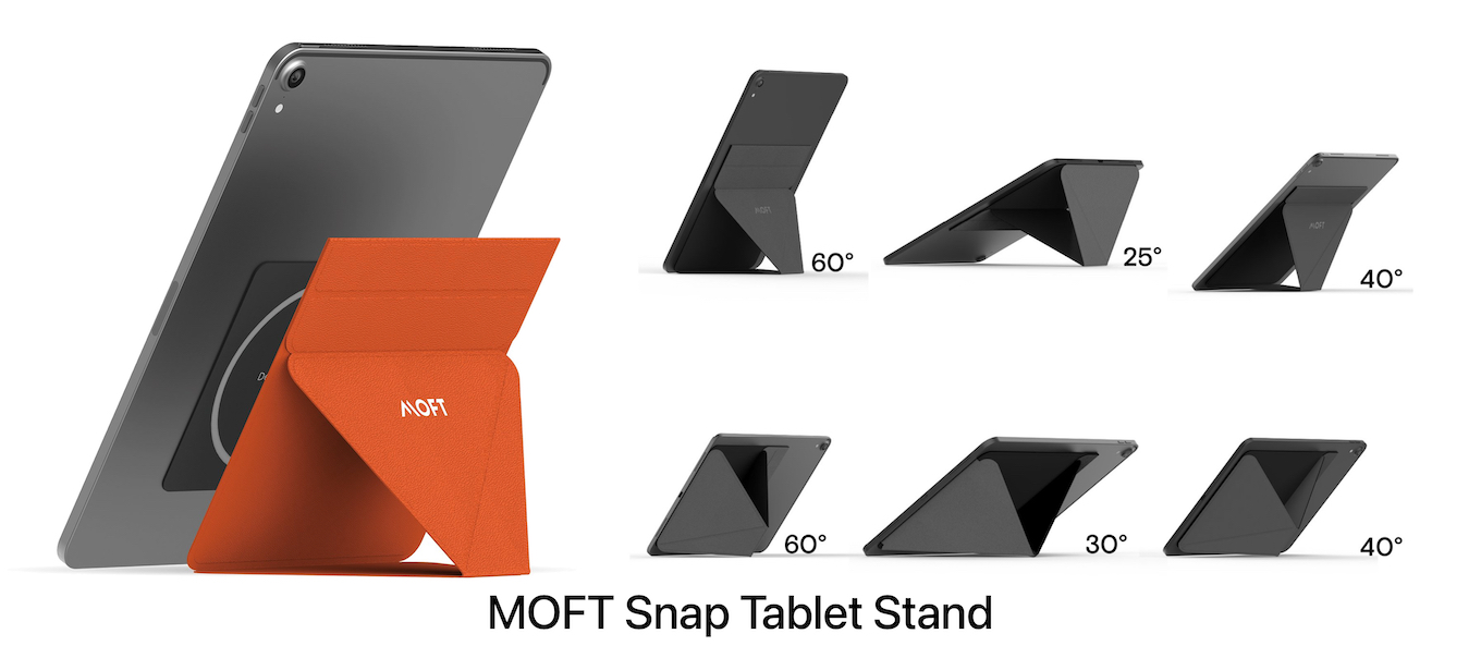 MOFT Snap Tablet Stand 6 viewing angles