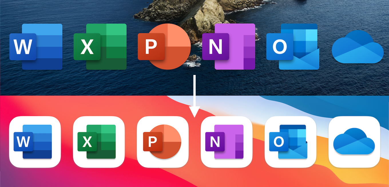 Microsoft Office for macOS 11 Big Sur