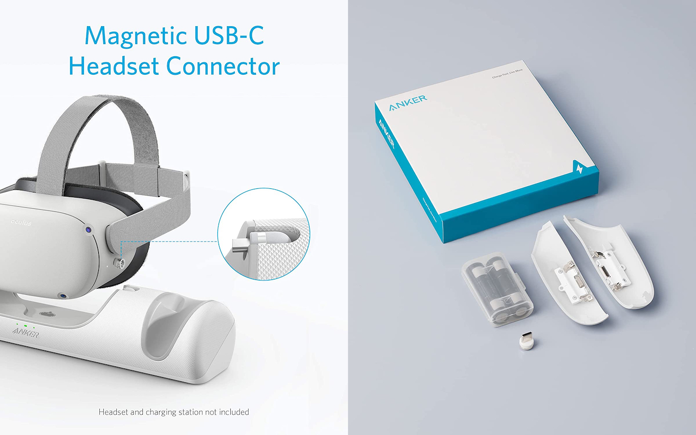 Magnetic USB-C Headset Connector