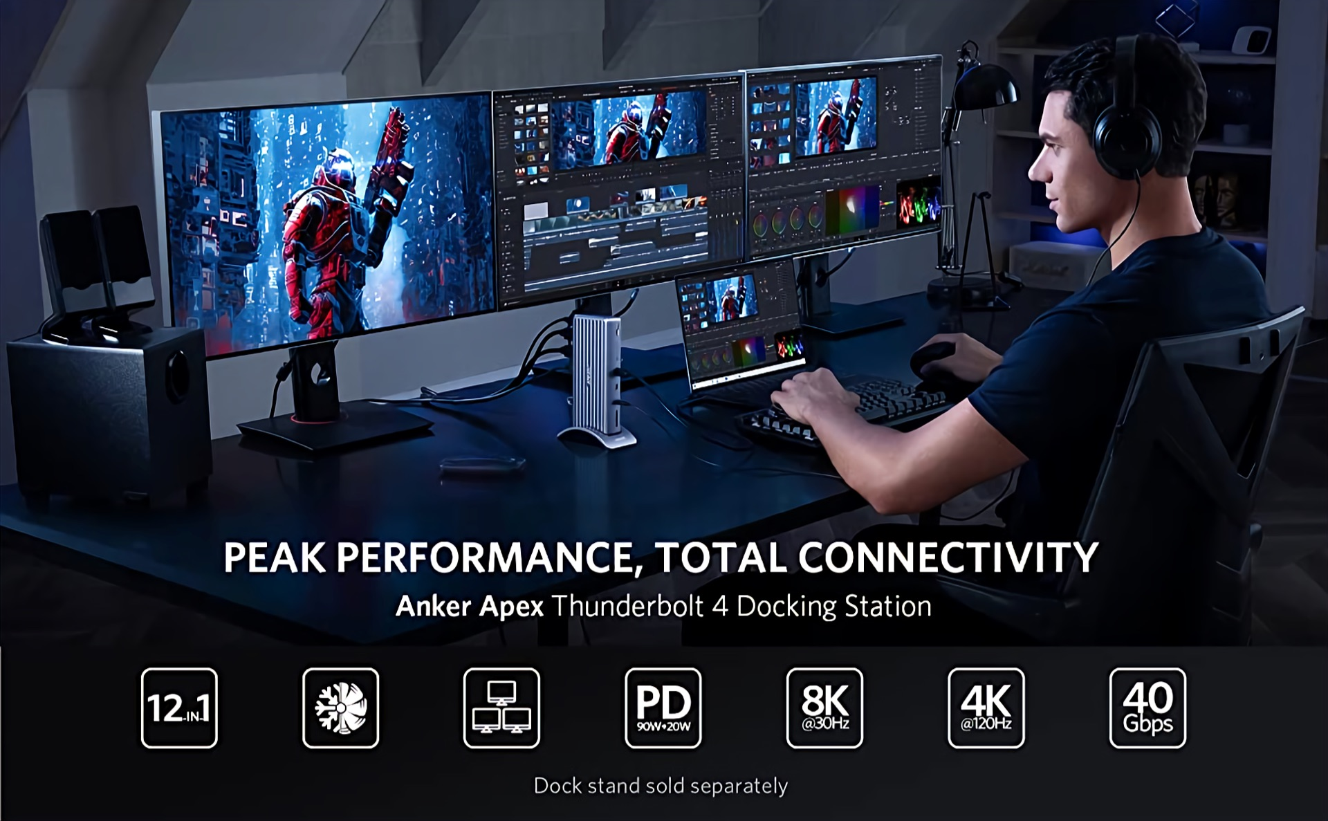 Anker Apex Thunderbolt 4 Docking Station