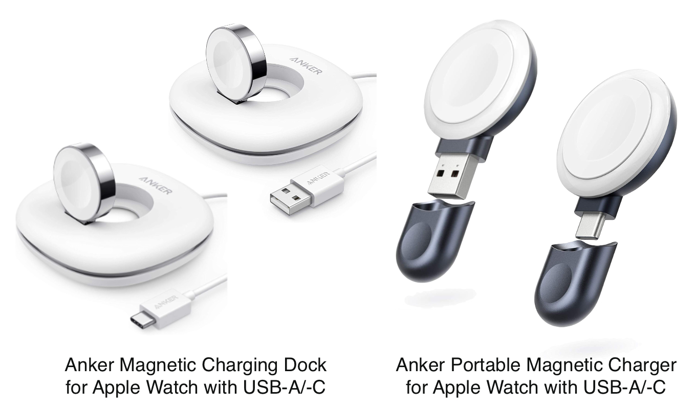 Anker Magnetic Charging Dock for Apple Watch
