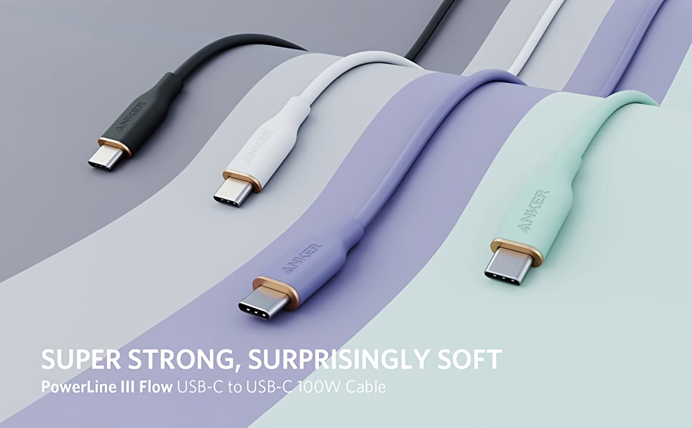 Anker PowerLine III Flow USB-C to USB-C Cable