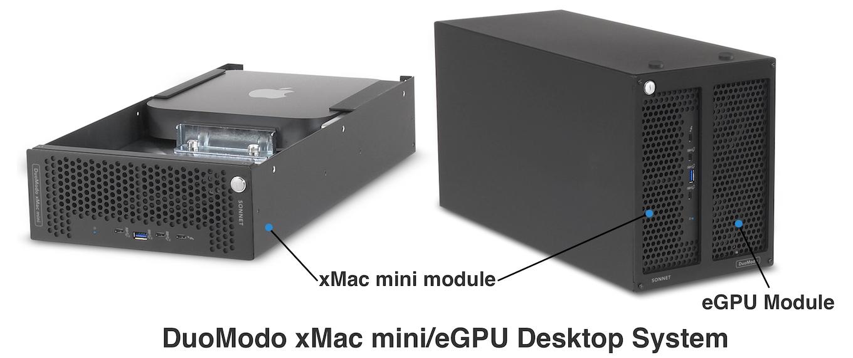 DuoModo xMac mini/Echo III Desktop System