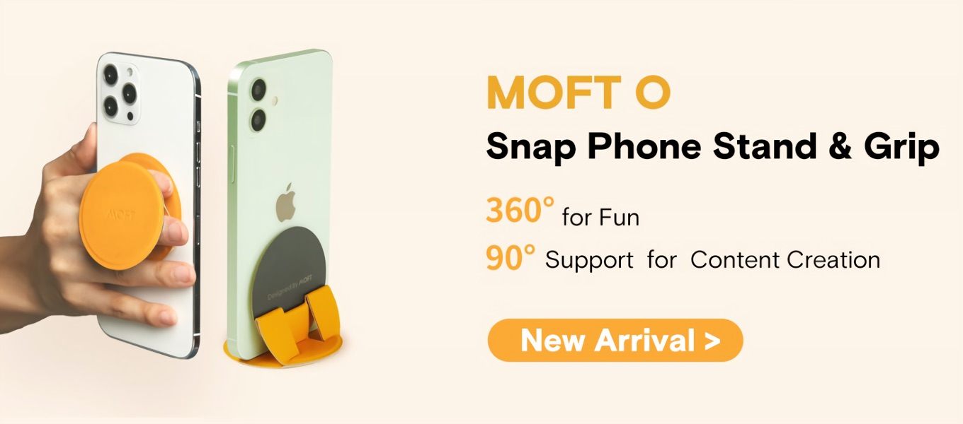 MOFT O Snap Phone Stand and Grip