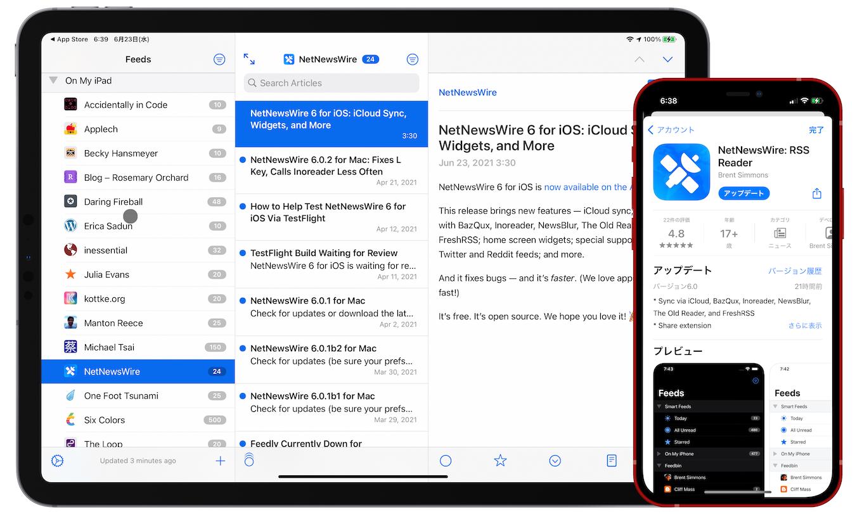 NetNewsWire v6.0 for iOS