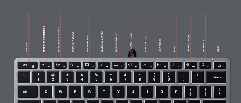 Satechi スリム W1 有線 バックライトキーボード