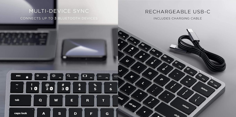 Satechi Slim X1 Bluetooth Backlit Keyboard