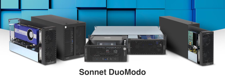 DuoModo xMac mini/eGPU Desktop System