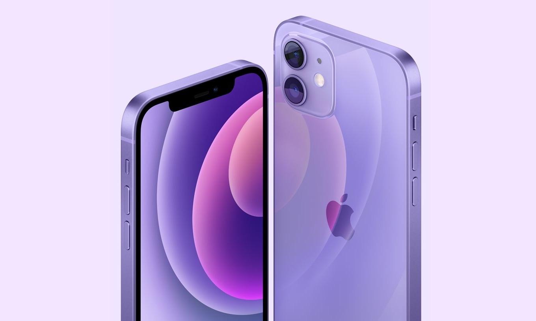 iPhone 12 パープルカラー