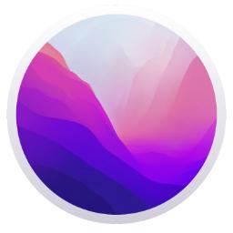 macOS 12 Monterey logo icon