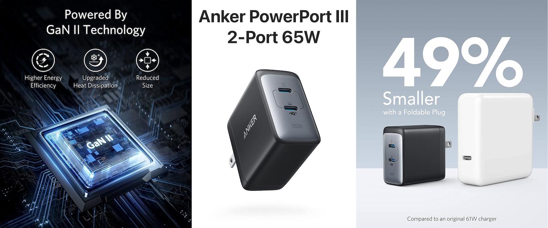 Anker PowerPort III 2-Port 65W