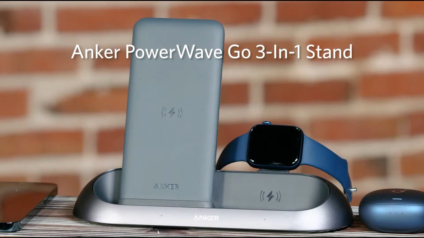 Anker PowerWave Go 3-In-1 Stand Event