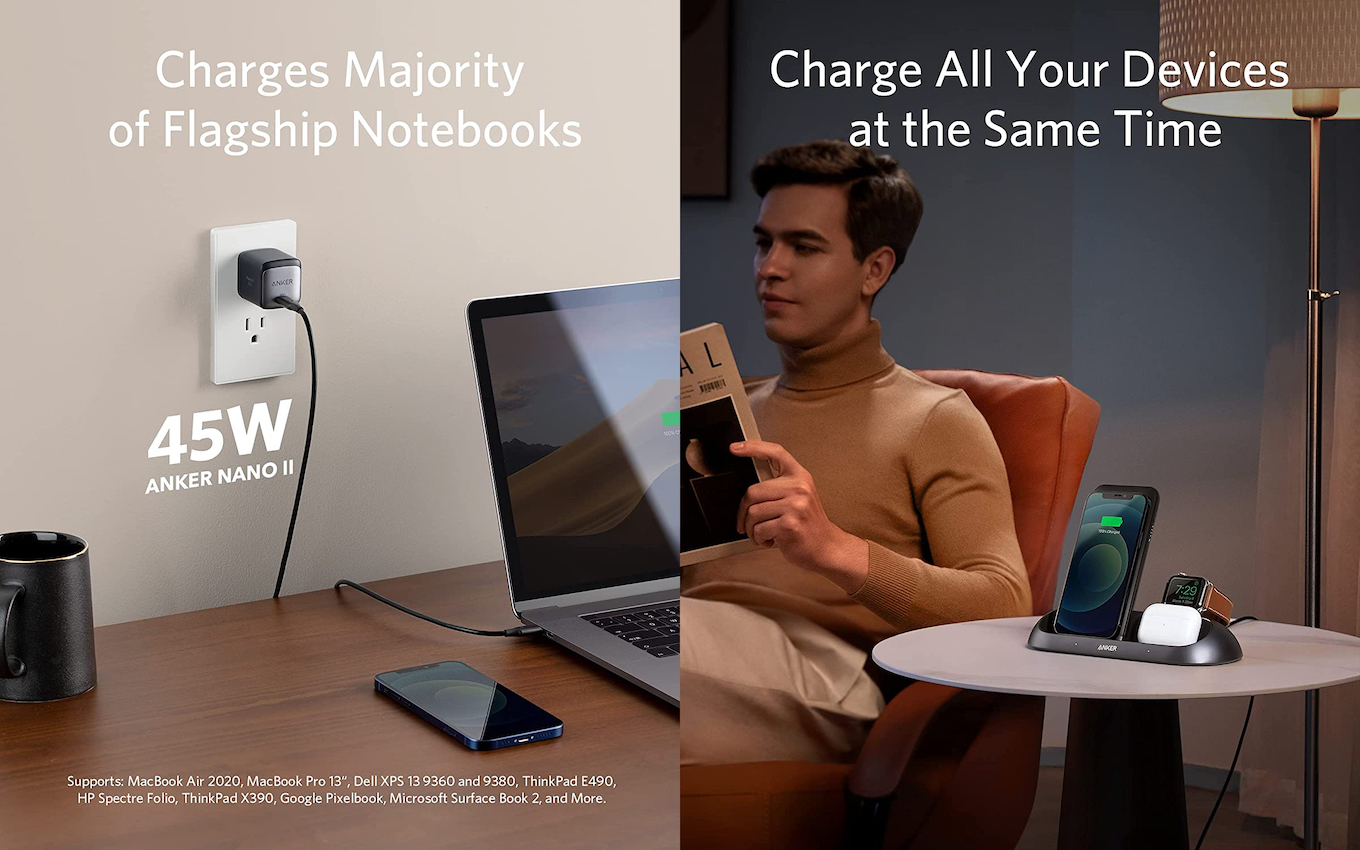 Anker PowerWave Go 3-In-1 Stand