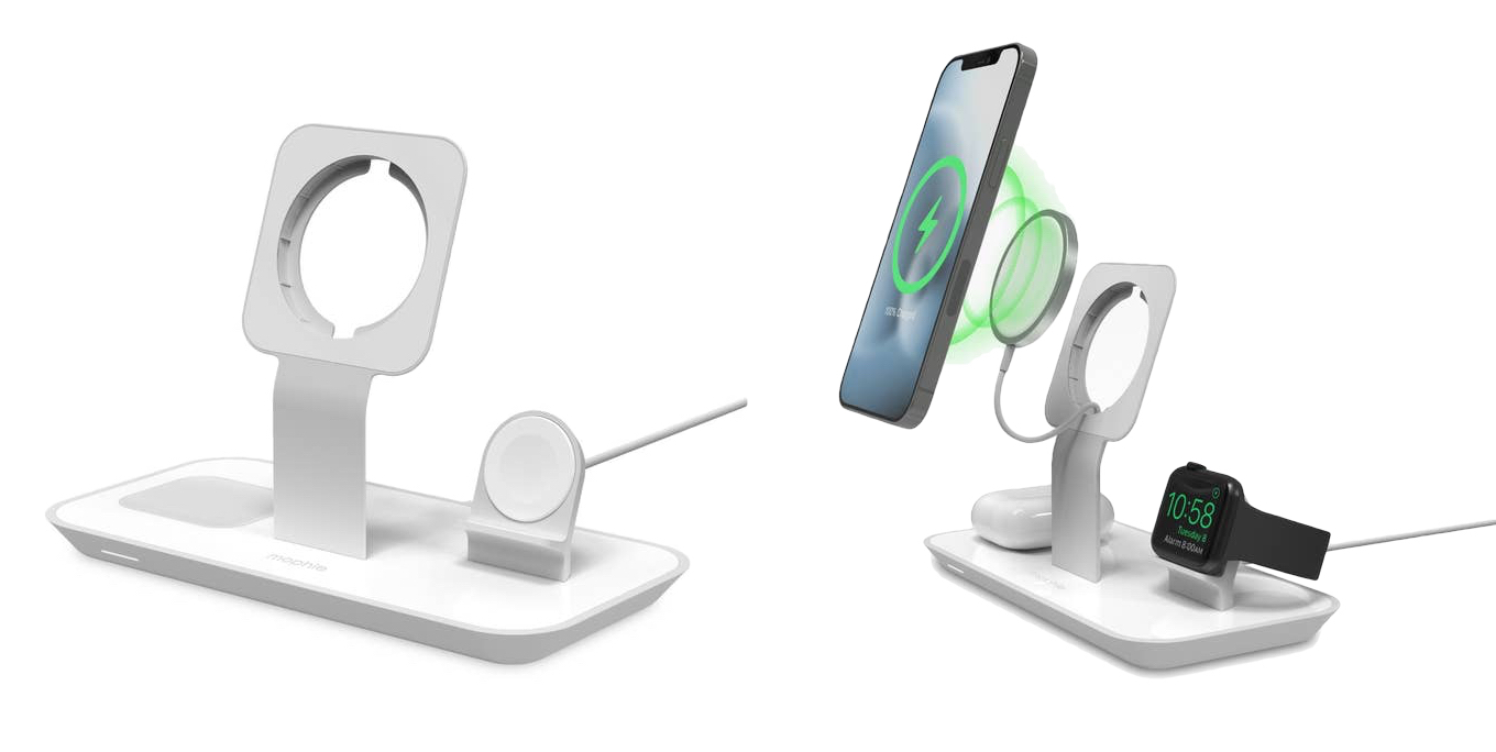 How to setup mophie 3-in-1 Stand for MagSafe Charger.