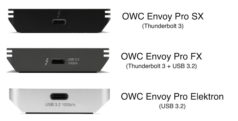 OWC Envoy Pro SX FX and Elektron