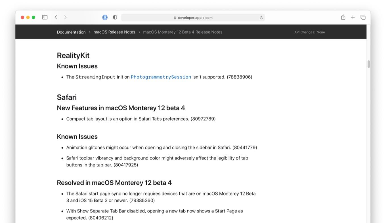 Safari 15 Beta Compact tab layout is an option in Safari Tabs preferences
