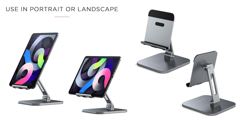Satechi Aluminum Desktop Stand for iPad