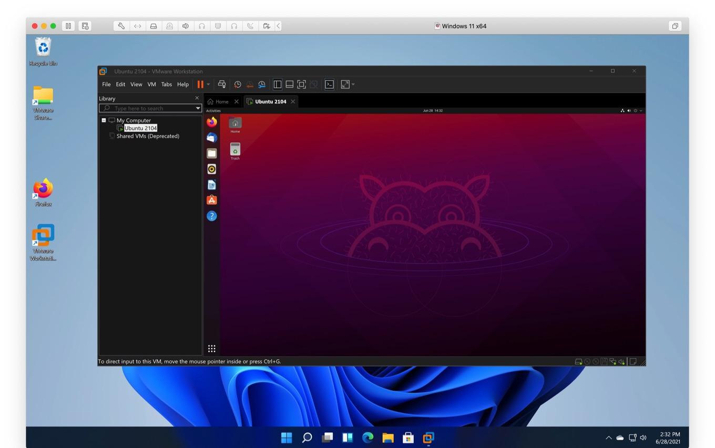 Windows 11 work on VMware Fusion