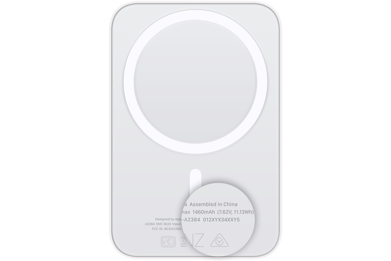MagSafe Battery Packシリアルナンバー