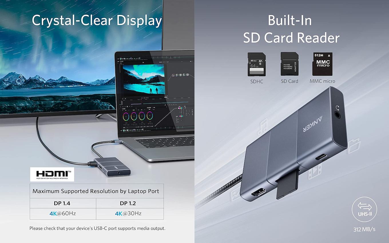 PowerExpand 6-in-1 USB-C 10 Gbps Hub